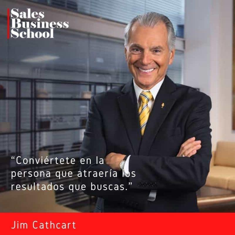 Frase motivadora de Ventas de Jim Cathcart