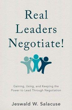 Real leaders Negotiate