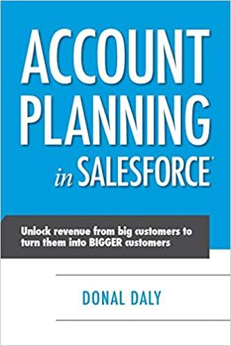 Account Planning in Salesforce