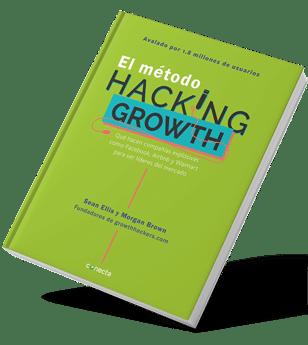 Libro de negocio El metodo Hacking Growth