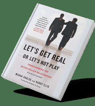 Libro de ventas Lets get real or lets not play