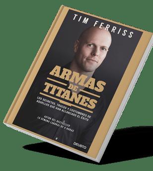 Libro de ventas y negocio Armas de Titanes